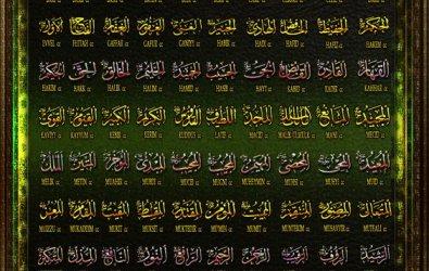 Esma'ül - Hüsna | En güzel  isimler Allah cc 'ındır |
